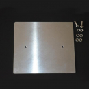 Aluminum mounting plate 170 x 210